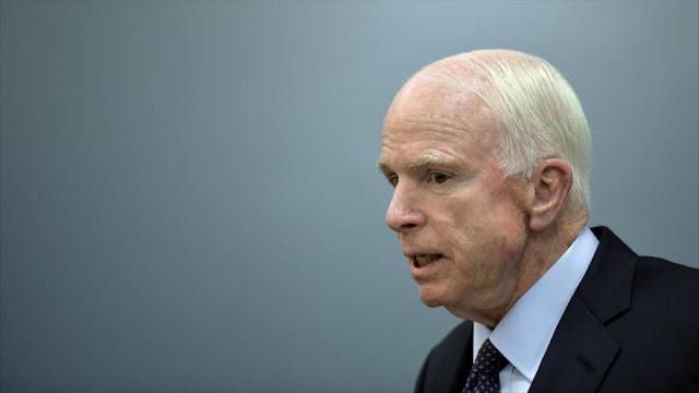 """McCain: Putin es una """"amenaza"""" para el orden mundial"""