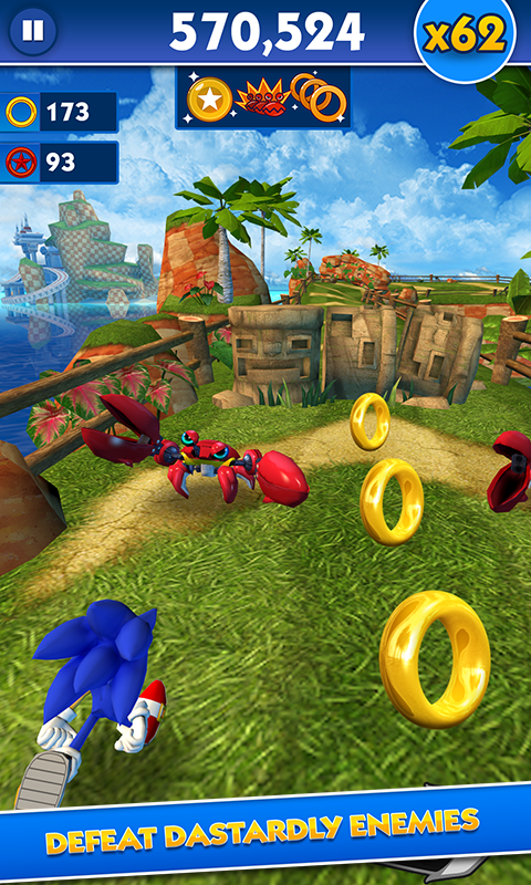 download game sonic dash
