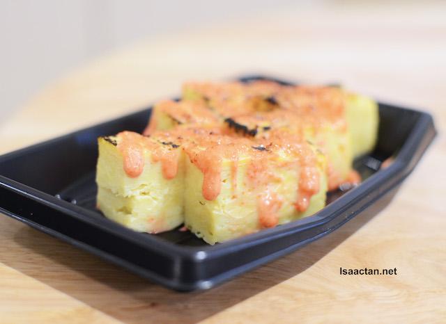 My favourite, Mentai Mayo Tamagoyaki - RM8.90