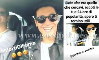 Sonia Emanuele fratello di Luca Onestini