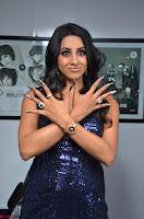 Sanjana looks happy in sparkling short Deep neck Purple Gown ~  Exclusive 49.JPG