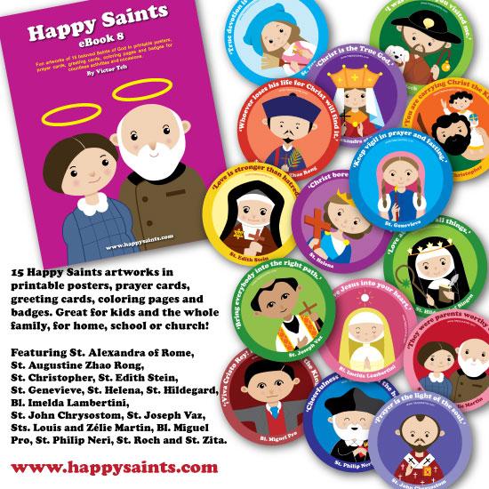 Happy saints 2016 artworks available in happy saints ebook 8 fandeluxe Images
