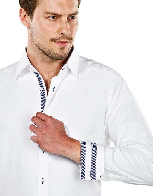 pánská móda v blogu  Košile Vincenzo Boretti pro maximální komfort 4364c01619