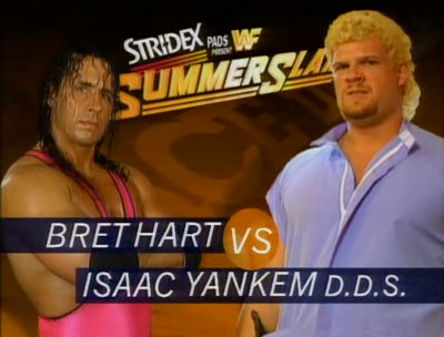WWF / WWE - SUMMERSLAM 1995 - Bret 'The Hitman' Hart vs. Isaac Yankem