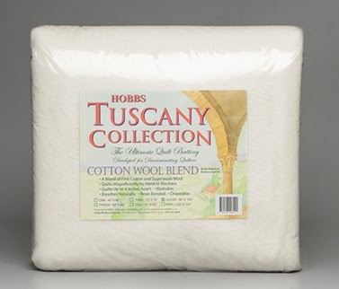 Hobbs Tuscany Cotton Wool batting
