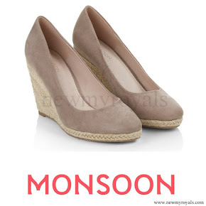 Kate wore Monsoon Fleur wedges