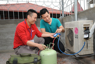Bảng báo giá nạp gas điều hòa tại Hà Nội 2016
