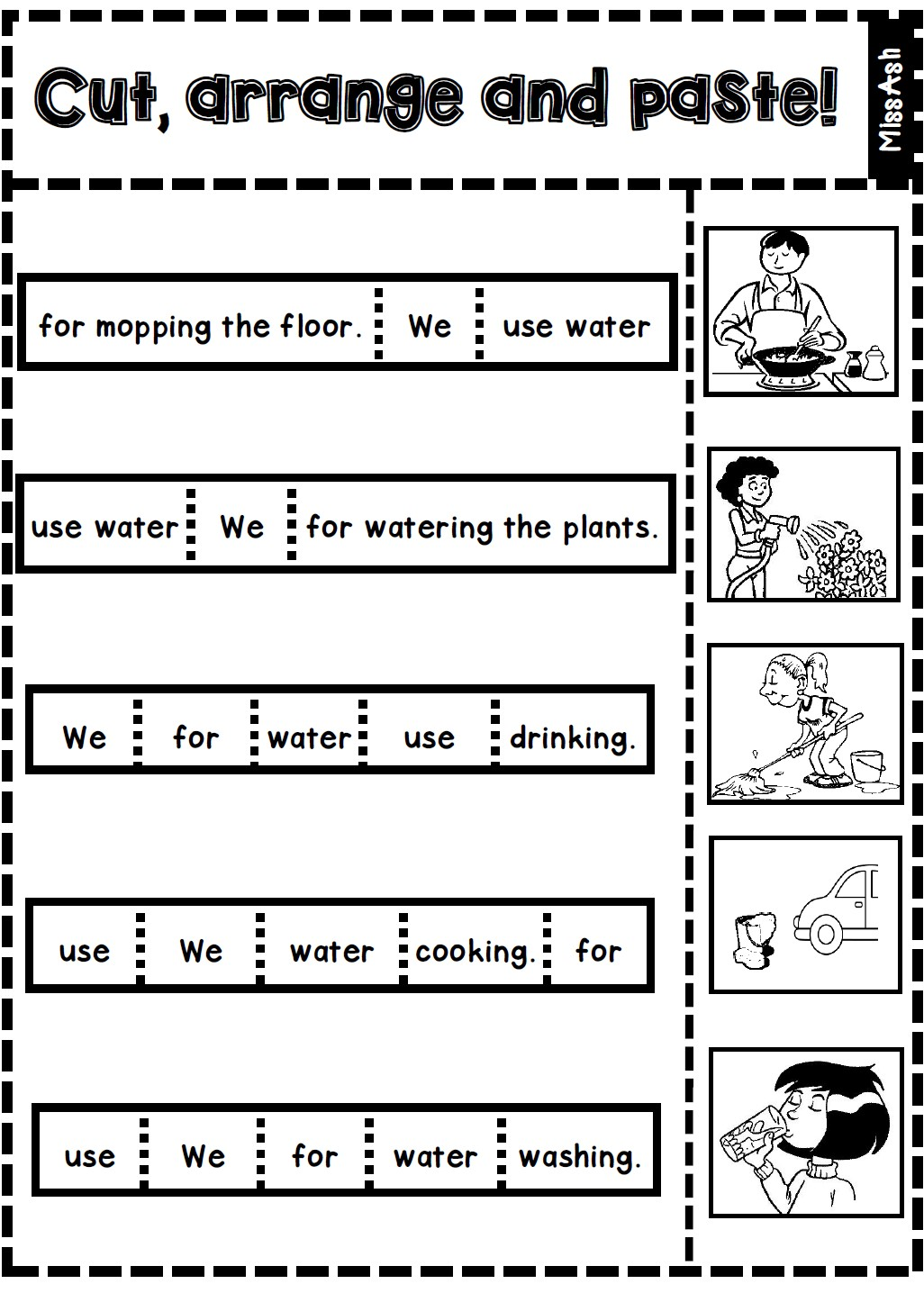 Ash The Teacher Non Textbook Lesson Water Conservation
