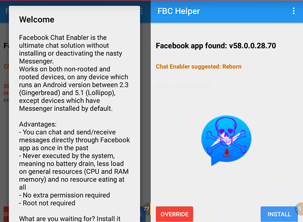 baca pesan Facebook tanpa aplikasi Messenger