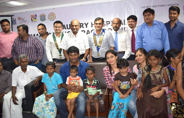 "Actor Vishal launches ""Heart to Heart"" Initiative"