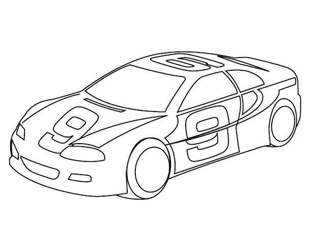 Sport Cars Coloring Pages
