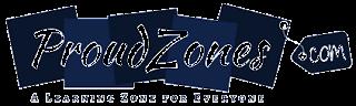 proudzones blog