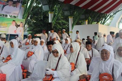 Walikota Lepas Keberangkatan Calhaj Kota Tanjungbalai