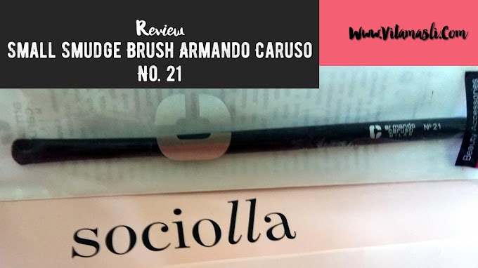 Review Small Smudge Brush Armando Caruso No. 21