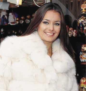 Oxana Fedorova Miss Rusia 2002