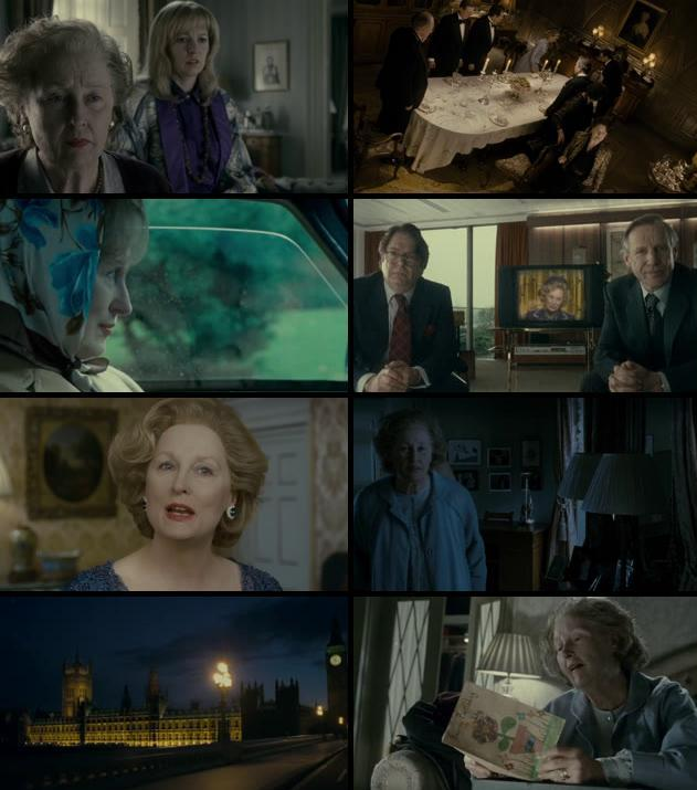 The Iron Lady 2011 Dual Audio Hindi 480p BluRay 300mb