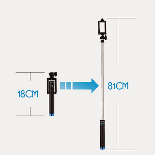 Mpow iSnap Bluetooth Self-Portrait Monopod