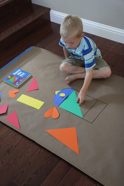 Toddler Approved!: Shape Activities for Preschoolers {Away ...