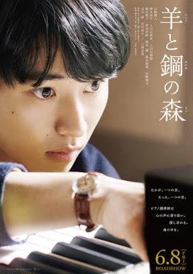 Romance 'Hitsuji to Hagane no Mori' ganha mangá na Cheese