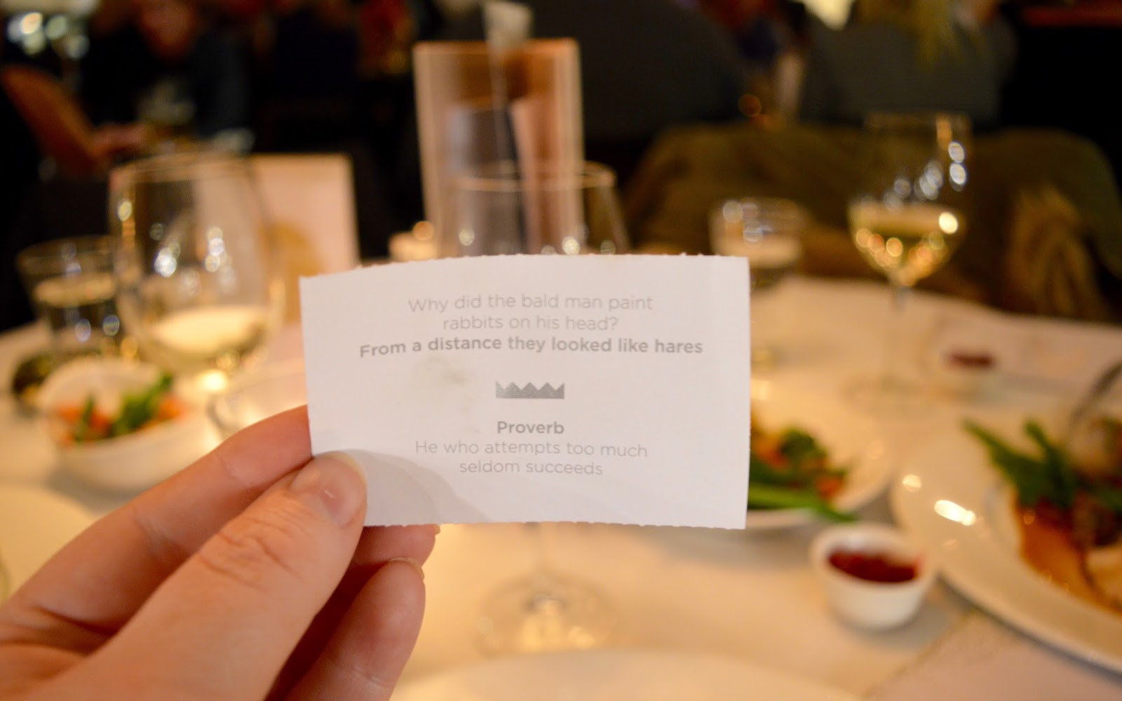 Celebrate Christmas at Newcastle Gusto  - Christmas meal, cracker joke