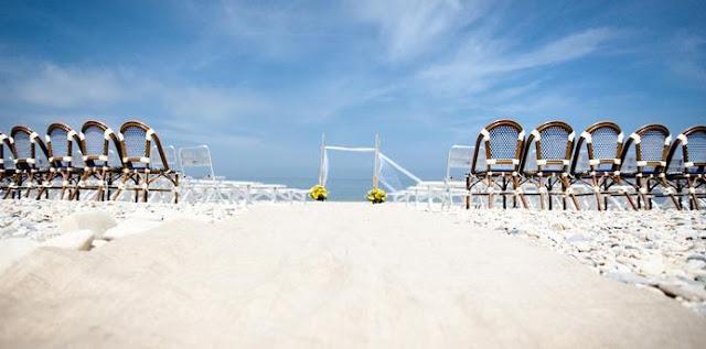 Hamptons Wedding Venues navy beach montauk
