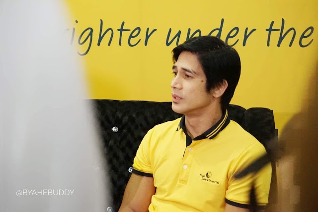 Piolo Pascual in Keeping his Promises with Sun Life