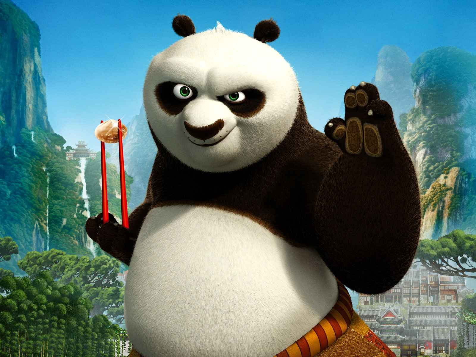 Kung fu panda 2 wallpapers hq wallpaper collections - Kung fu panda wallpaper ...