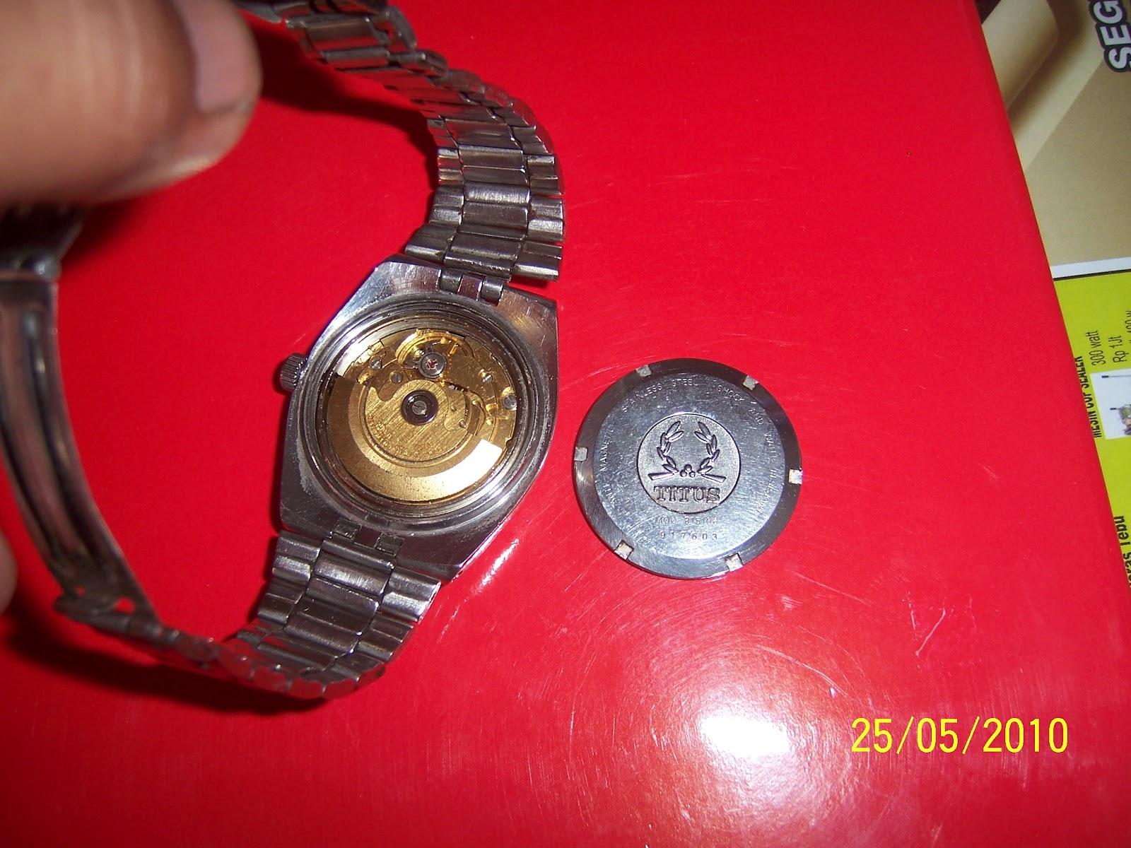 Warung Jadul dan antik  Jam tangan Titus  01 ( Terjual ). 150076738e