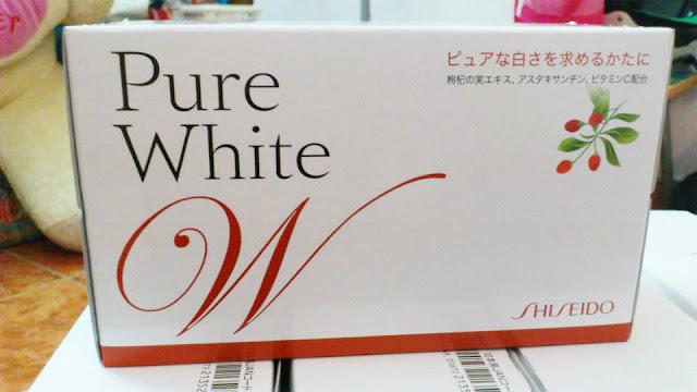 tác dụng của collagen dạng nước Shiseido Pure White