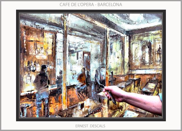 CAFE-OPERA-BARCELONA-PINTURA-CAFETERIES-PINTURES-FOTOS-ARTISTA-PINTOR-ERNEST DESCALS-