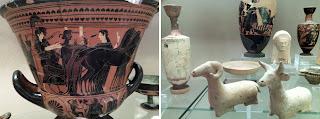 museu siracusa portugues vaso Atico - O Museu Arqueológico de Siracusa