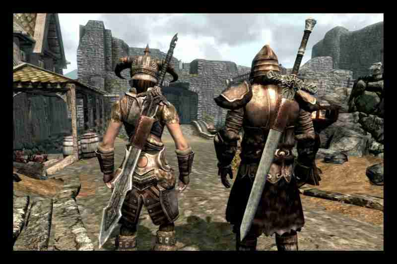 Оружие в Skyrim