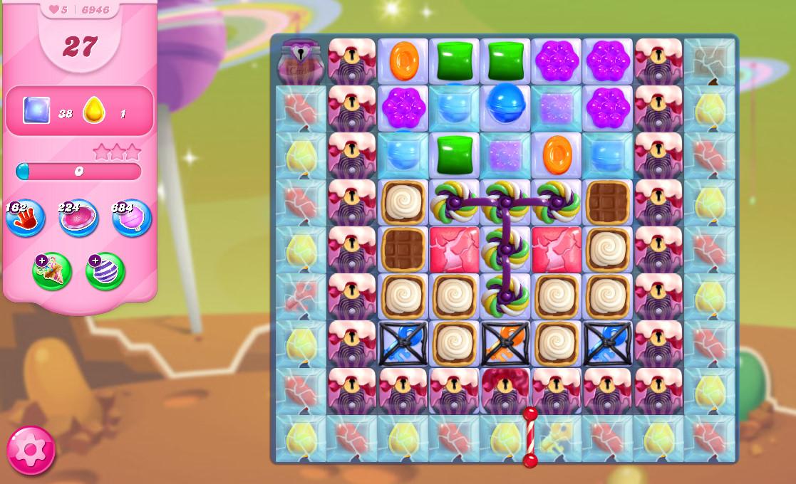 Candy Crush Saga level 6946