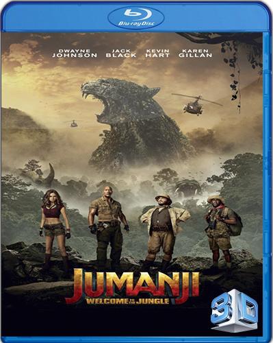Jumanji: Welcome to the Jungle [2017] [BD50] [Latino] [3D]