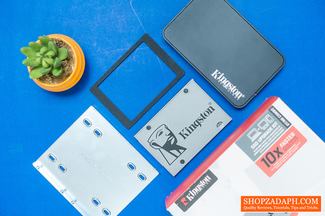 kingston uv500 ssd upgrade kit review