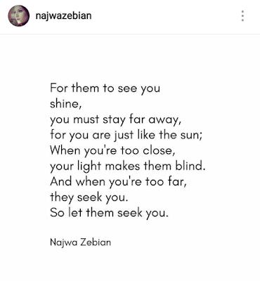 Najwa Zebian Quote