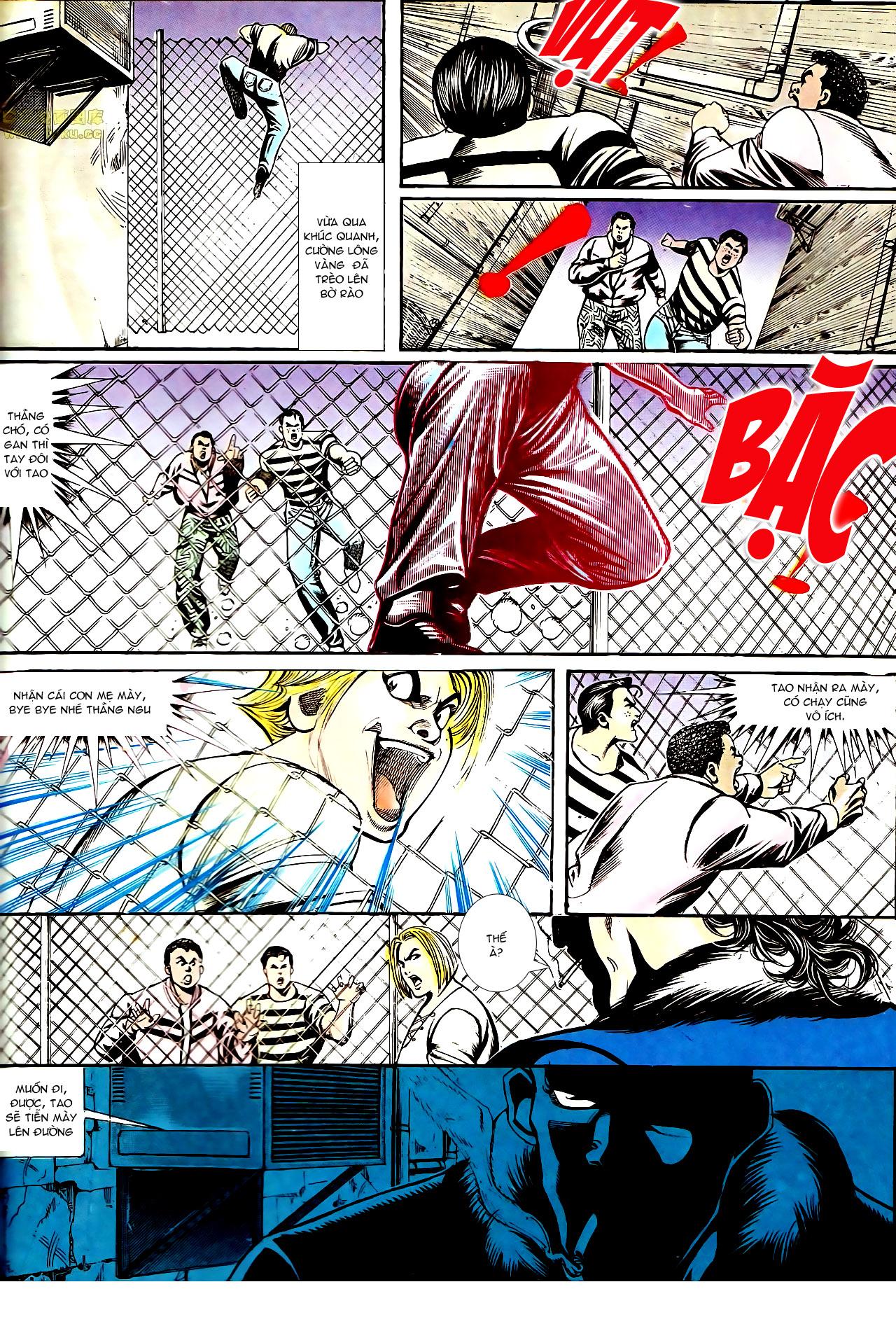 Người Trong Giang Hồ chapter 153: xích mích trang 29