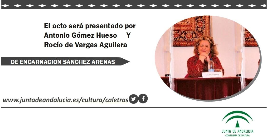 Encarnaci n s nchez arenas recitales y actos p blicos for V encarnacion salon