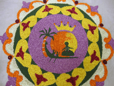 onam pookalam latest images