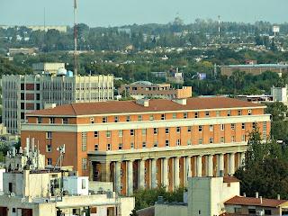 Palacio de Justicia e Municipalidad de Mendoza - Vista do Terraço do Hotel Amérian