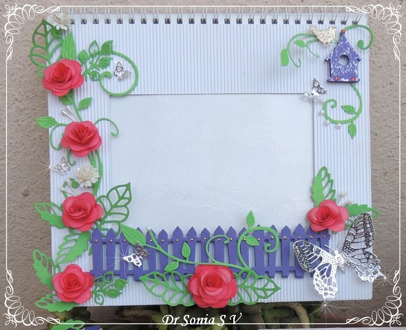 Cards ,Crafts ,Kids Projects: Photo frame Tutorial and ...