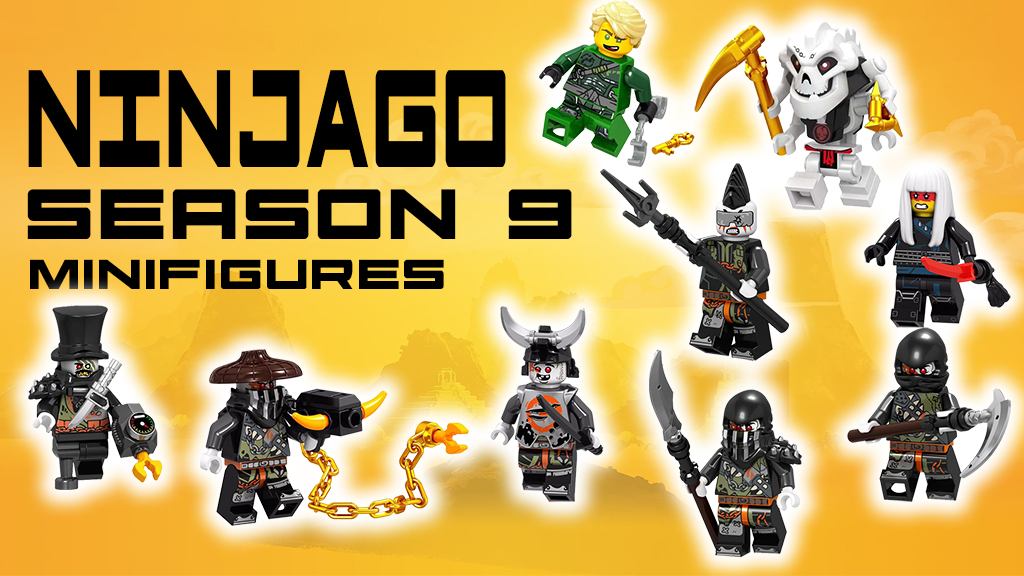 4urkid Channel Lego Ninjago Season 9 Hunted Dragon Hunters