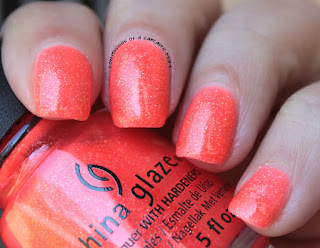 China Glaze Lite Brites Papa Don't Peach