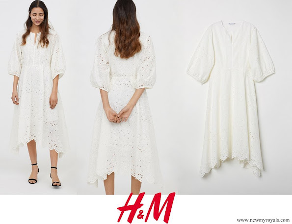 Crown Princess Victoria wore H&M dress