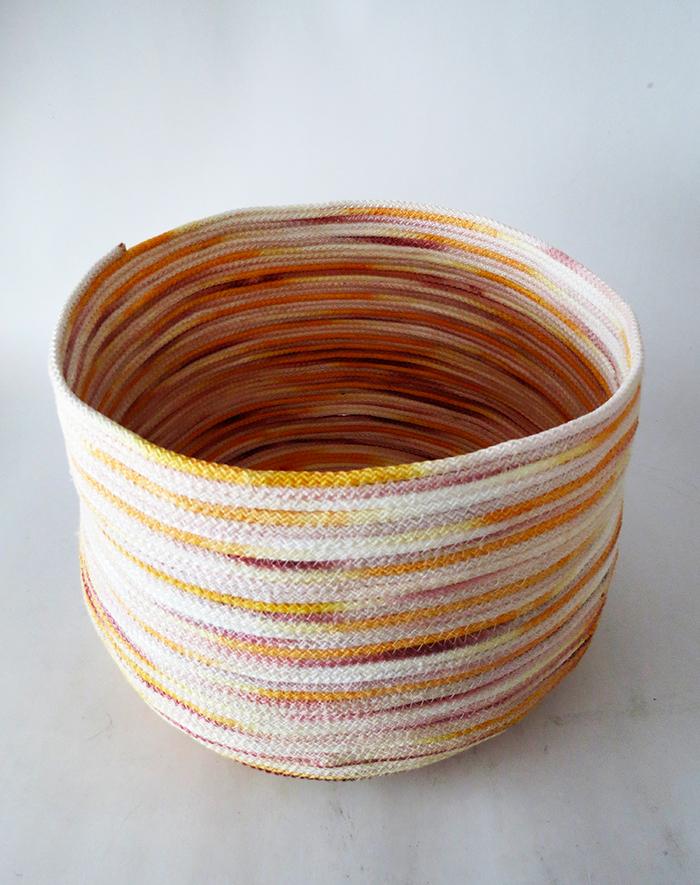how to make a rope basket ohoh blog. Black Bedroom Furniture Sets. Home Design Ideas