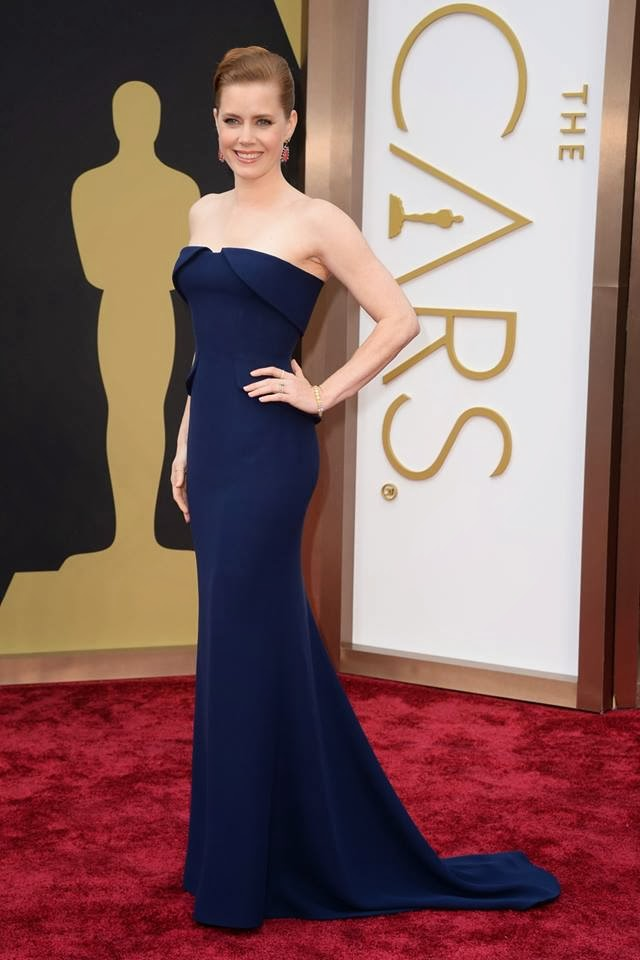 Amy Adams in Gucci at the Academy Awards 2014