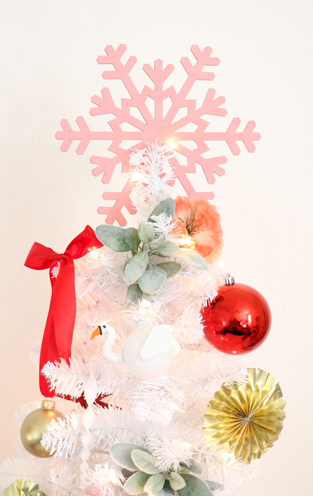 DIY Nutcracker Ballet Inspired Tree and DIY Blendo Ornaments with @Treetopia