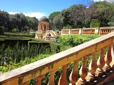 Mirador o belvedere del Parc del Laberint