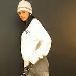 Andrea Rincon, Selena Spice Galeria 19: Buso Blanco y Jean Negro, Estilo Rapero Foto 10