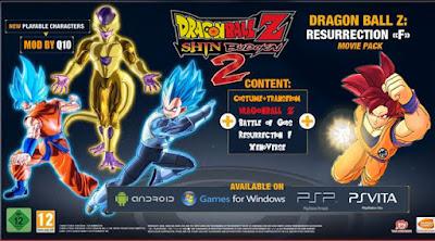 Game DBZ Shin Budokai 2 Apk